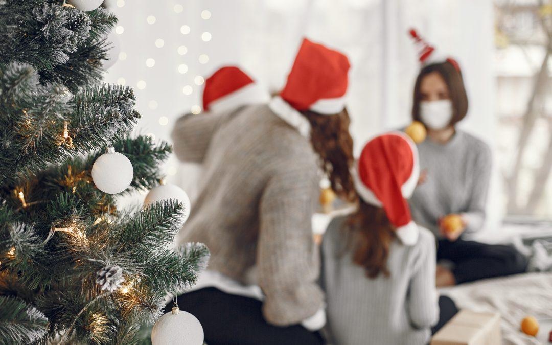 Consejos para reducir el riesgo de contagio en los hogares durante los encuentros navideños